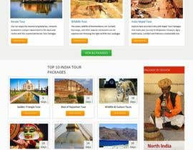 #6 para Build a Website mockup for my tour company por pradep89