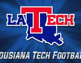 #7 untuk Design Banner/Wrap for Louisiana Tech Football Truck oleh lukzzzz