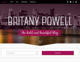 #24 untuk Design a Blogger Landing Page oleh ibutterfly
