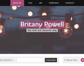 Nro 10 kilpailuun Design a Blogger Landing Page käyttäjältä muhamedibrahim25