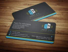 #6 untuk Provide a business card which defines the mobile repair industry oleh anikush