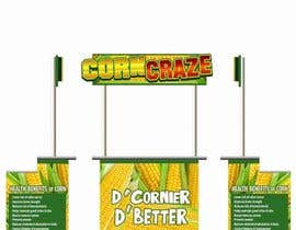 #9 for Create a Logo and Food Stall Look for Corny Corner af dawncassie