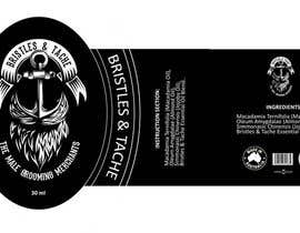 #13 untuk Design 3 Beard Oil Labels for new products launch oleh sensinine