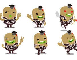 #5 untuk Design our company's messenger chat sticker set. oleh KozolArts