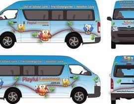 #4 for Design a vinyl wrap for a bus af NavCZ