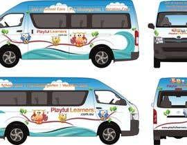 #31 for Design a vinyl wrap for a bus af NavCZ