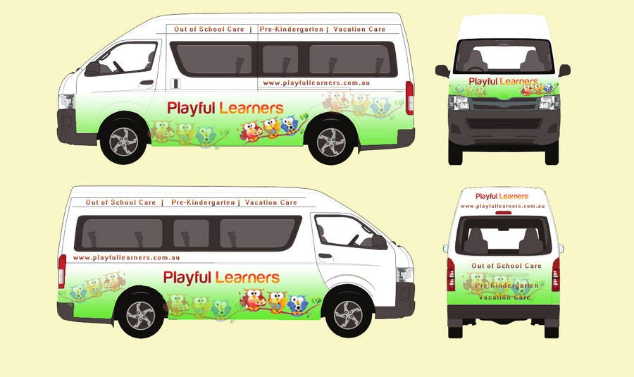 cd7340612d Entry  28 by arman0464 for Design a vinyl wrap for a bus