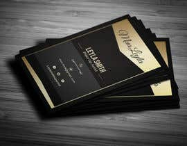 #14 cho Design some Business Cards for Makeup, Brow & Lash Specialist bởi Fgny85