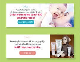 #15 for Design 2 Banners for a baby/mother care products site af dinesh0805