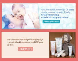 #18 for Design 2 Banners for a baby/mother care products site af designsvilla