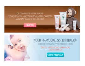 #26 for Design 2 Banners for a baby/mother care products site af hansa02