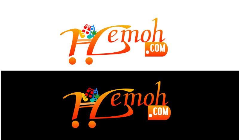 Bài tham dự cuộc thi #                                        55                                      cho                                         Webshop Logo design + one-letter Favicon (H)