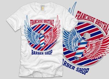 Nro 5 kilpailuun Design a T-Shirt for barbershop käyttäjältä ezaz09