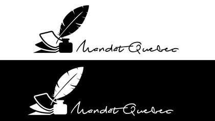 Nro 35 kilpailuun Design a Logo for  M a n d a t              Q u e b ec käyttäjältä picitimici