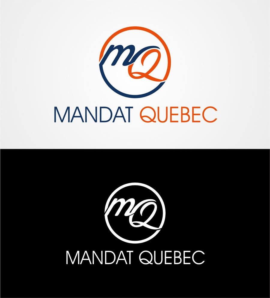 Inscrição nº 21 do Concurso para Design a Logo for  M a n d a t              Q u e b ec