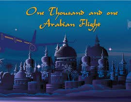 "#86 for Design ""1001 Arabian Flights"" by hebahigazy"