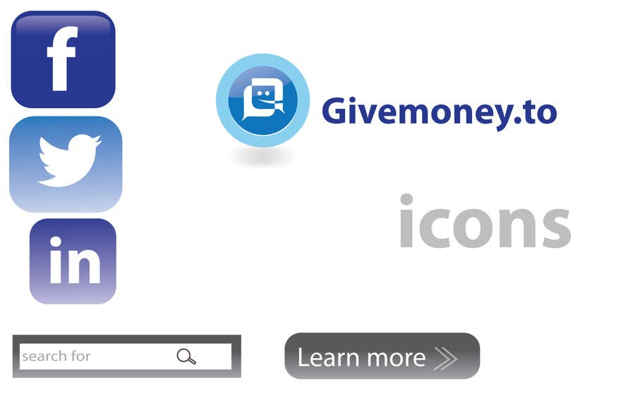 #14 for Develop a Corporate Identity for Givemoney.to by alizainbarkat