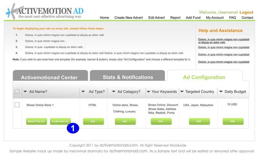 Inscrição nº                                         19                                      do Concurso para                                         Website Design for Active Motion Ad