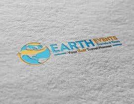 #112 untuk Design a Logo for EARTH EVENTS Travels & Tours oleh eddesignswork