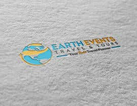 #113 untuk Design a Logo for EARTH EVENTS Travels & Tours oleh eddesignswork