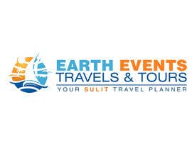 #117 untuk Design a Logo for EARTH EVENTS Travels & Tours oleh mazila