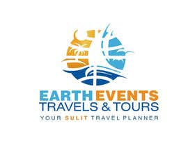 #118 untuk Design a Logo for EARTH EVENTS Travels & Tours oleh mazila
