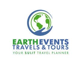 #125 untuk Design a Logo for EARTH EVENTS Travels & Tours oleh mazila