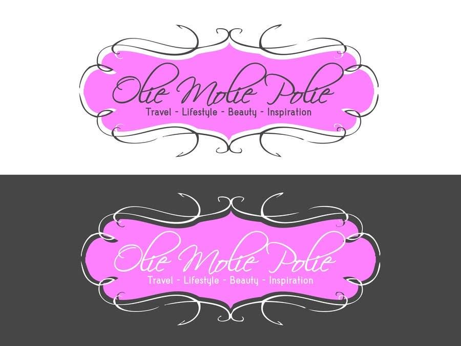 """Konkurrenceindlæg #49 for Design a Logo for a personal blog """"OlieMoliePolie"""""""