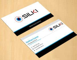 #298 untuk Design some Business Cards for Silki oleh dinesh0805