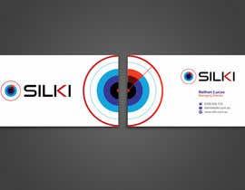 #198 untuk Design some Business Cards for Silki oleh Muazign3r