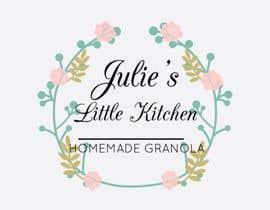 Nro 21 kilpailuun Design a Logo for Julie's Tiny Kitchen käyttäjältä Hanarosli1408
