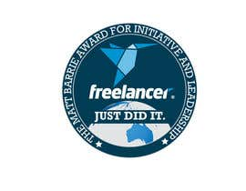 #15 untuk Design a badge in a NASA space mission style for Freelancer.com! oleh dmned
