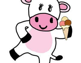 #7 untuk Illustrate a Pink Cow As a Cartoon for a Brand Mascot oleh overzestful