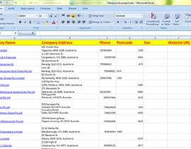 nrseu45 tarafından Do some Excel Work for Data scraping a website için no 29