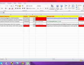 kash2710 tarafından Do some Excel Work for Data scraping a website için no 35