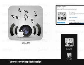 "#21 para Design an Icon for the ""Sound Turret"" Mac app por dirav"