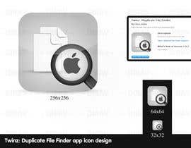 "nº 5 pour Design Icon for ""Twinz: Duplicate File Finder"" Mac app par dirav"