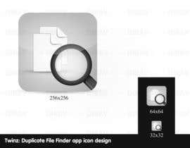 "nº 13 pour Design Icon for ""Twinz: Duplicate File Finder"" Mac app par dirav"