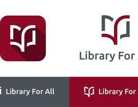 #239 untuk Design a Logo for the Library For All application! oleh redclicks