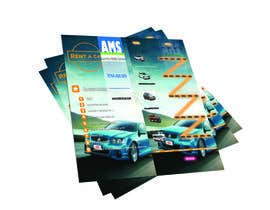 #6 for Design a Flyer for AMS RENT A CAR by aboodymaher