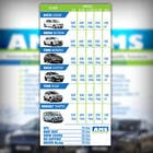 Graphic Design Kilpailutyö #11 kilpailuun Design a Flyer for AMS RENT A CAR