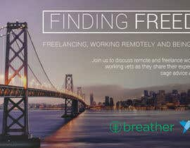joshuacorby2014 tarafından Design a Banner for a Freelancer/Breather Event in San Francisco için no 27