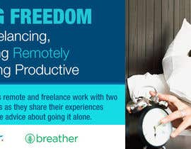 #103 para Design a Banner for a Freelancer/Breather Event in San Francisco por nirobmima