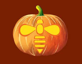 #21 for Illustrate Something for Honey Bee carved into a Pumpkin by Arturios505