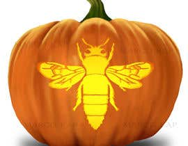 #5 for Illustrate Something for Honey Bee carved into a Pumpkin af marcokap