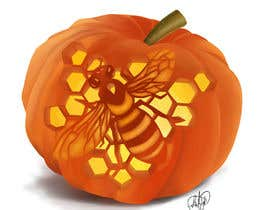 #12 for Illustrate Something for Honey Bee carved into a Pumpkin by AnaViNa