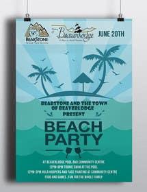 Nro 10 kilpailuun Design a Flyer for Community beach Party käyttäjältä skmamun
