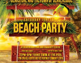 #15 untuk Design a Flyer for Community beach Party oleh amprodzz