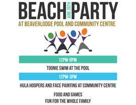 #3 untuk Design a Flyer for Community beach Party oleh Gugunte