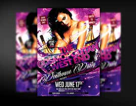 #14 para Design a Flyer for The Cosmopolitan Westend Penthouse Party por mirandalengo